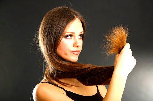 Как решить проблему секущихся волос