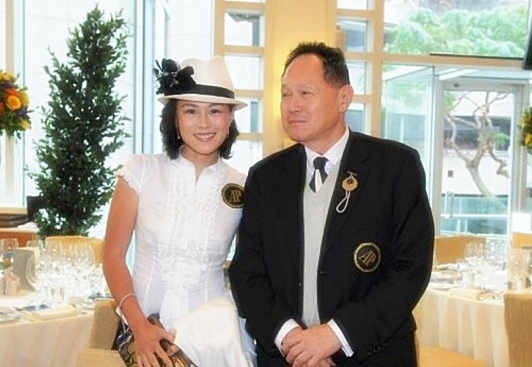 Сесил Чао с дочерью