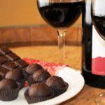 Вино и шоколад помогают людям худеть