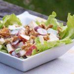 Ягодный салат в сладком муссе