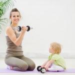 Фитнес-мама: как сохранить стройность в декрете