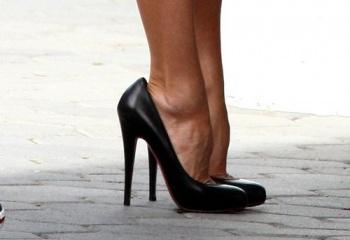 Туфли на каблуках, правильный выбор