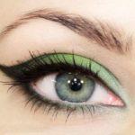 Цвет белого винограда в макияже глаз