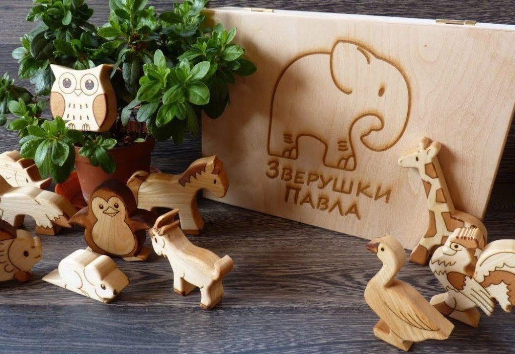 изготовление игрушек из дерева